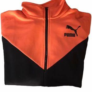 Puma Track Retro Look XL Zip Up Front  Jacket NWT
